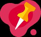 Icon pin